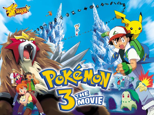 Multimedia Failure 22 Pokemon 3 The Movie Entei Spell Of The